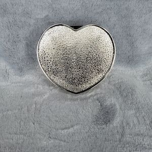 Silver Heart Trinket box